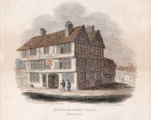 David Garrick's Birthplace