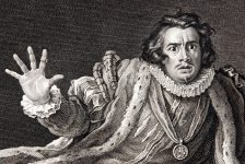Garrick in the character of Richard III