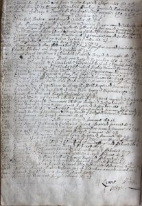 Garrick Christening Record, All Saints Church, Herefordshire Archives